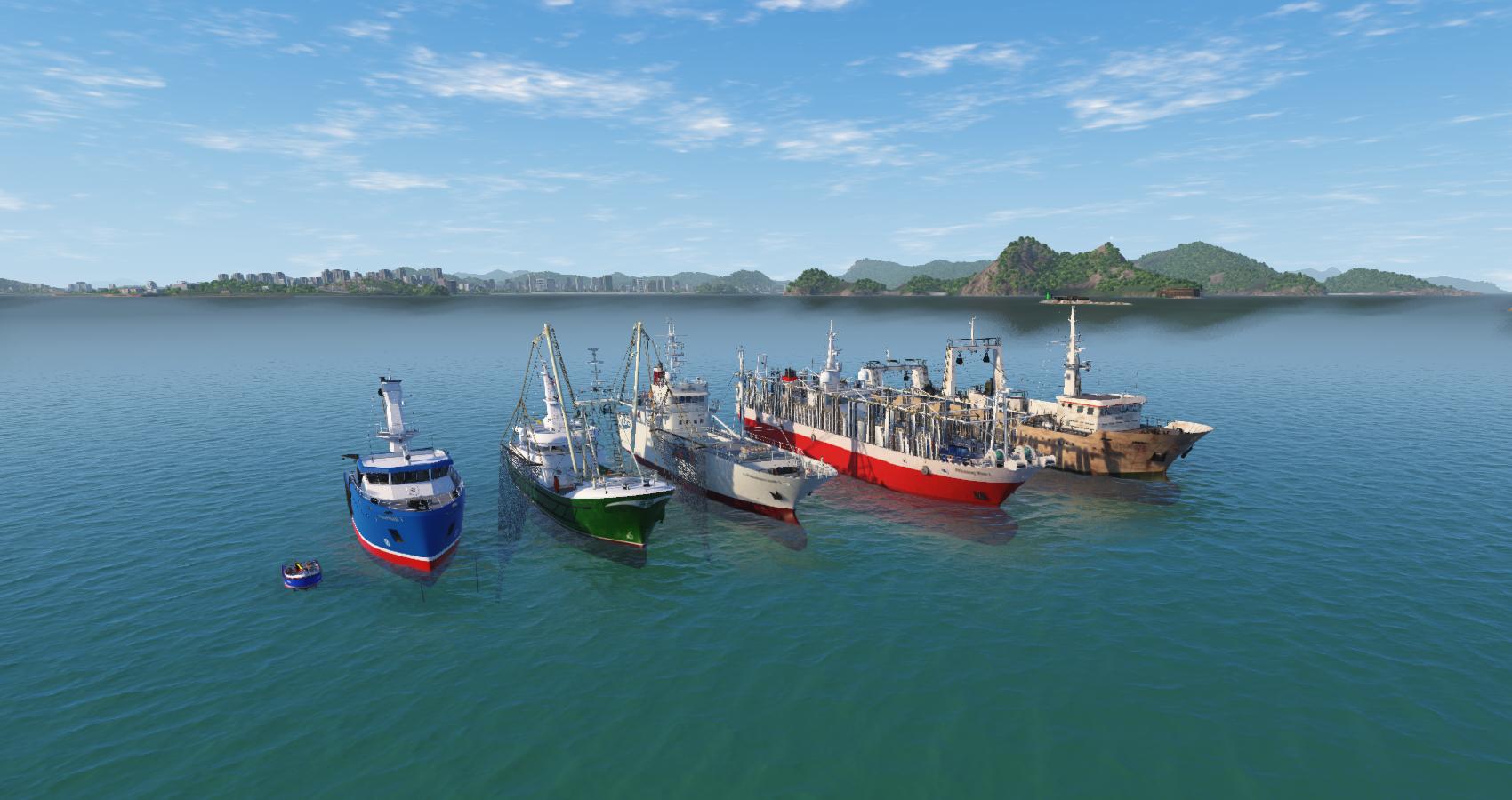 NAUTIS Fishing Vessels & Objects