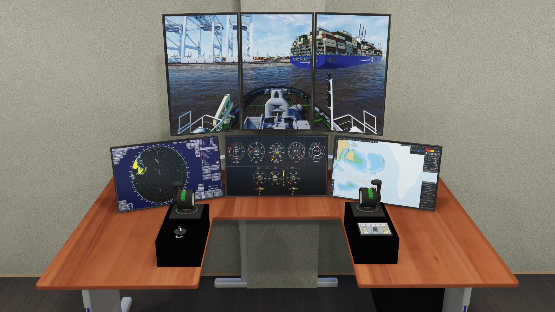 NAUTIS Towage Simulator