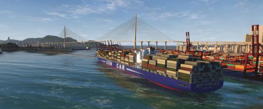 NAUTIS Maritime Simulator Navigation