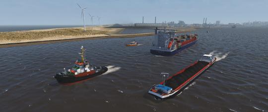NAUTIS Maritime Simulator Towage
