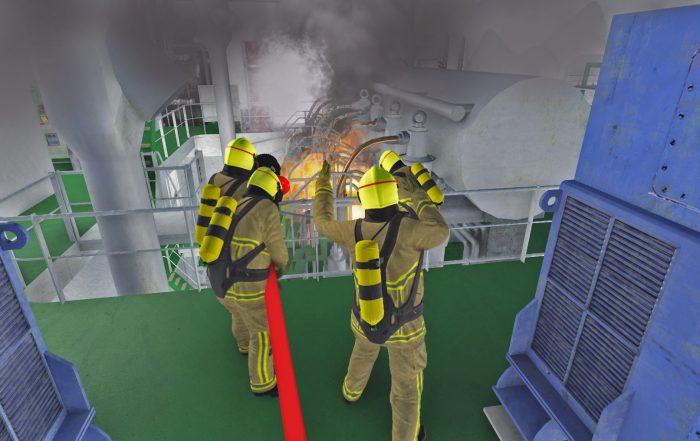 Response Simulator on-board incident