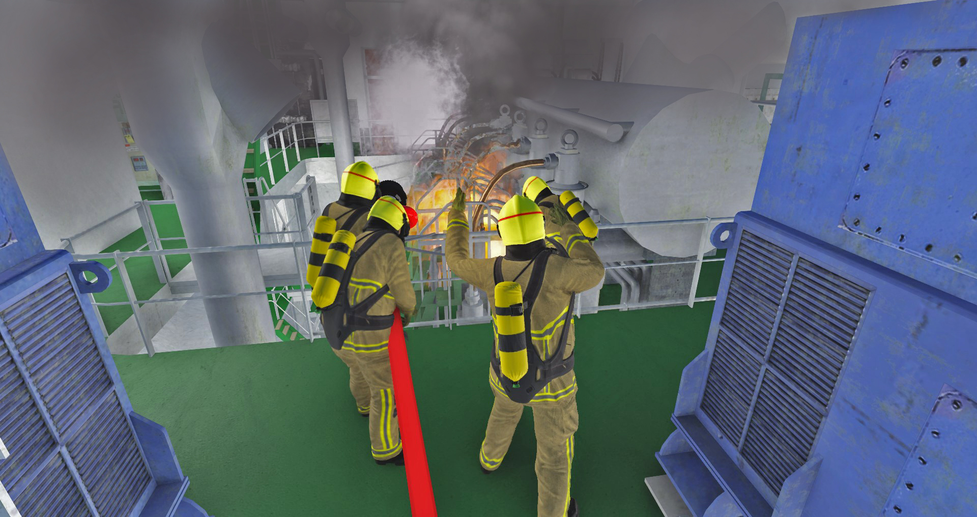 Response Simulator on-board incident