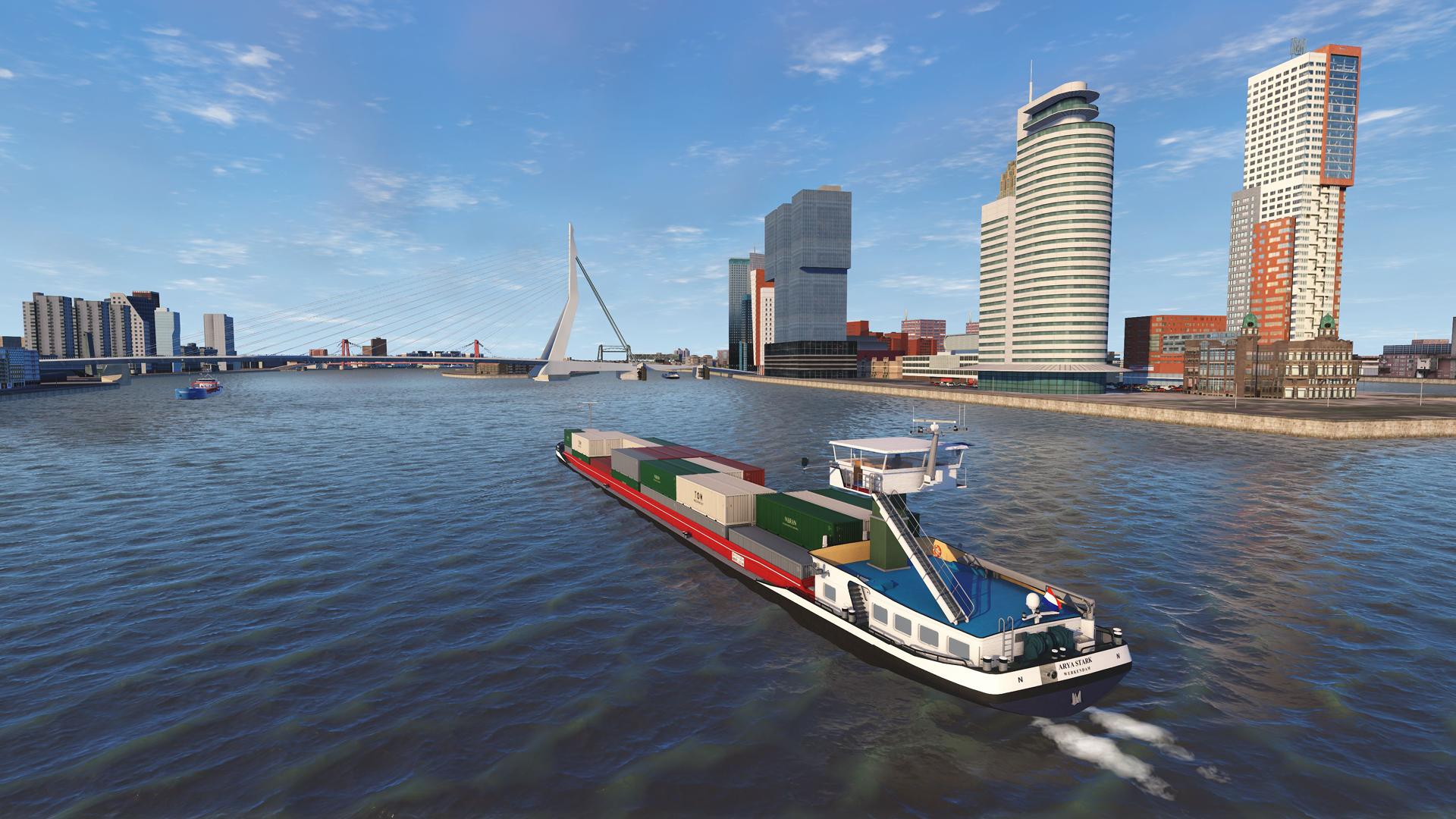 NAUTIS Maritime Simulator - Erasmus Bridge