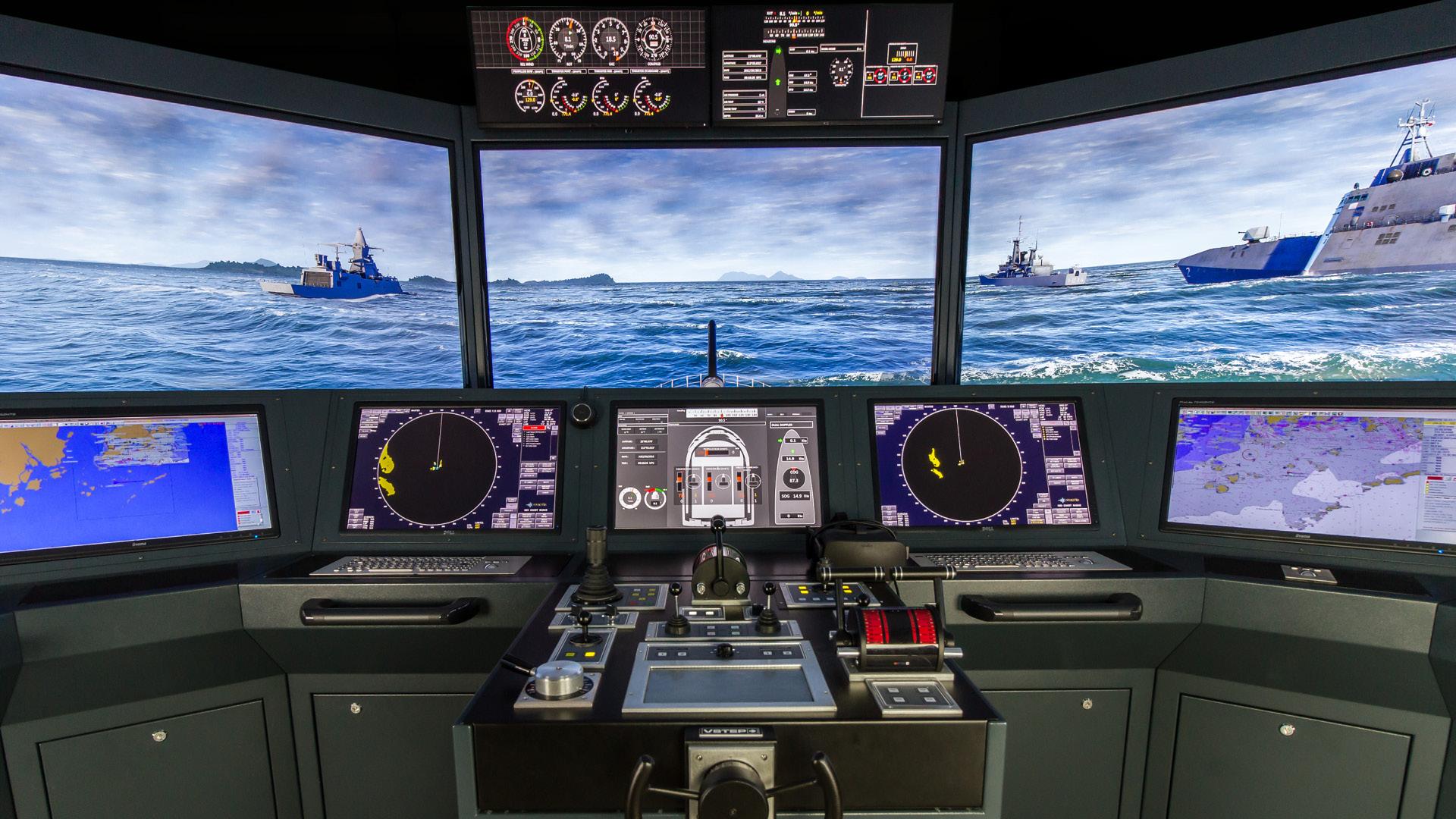 NAUTIS Maritime Simulator - FMBS