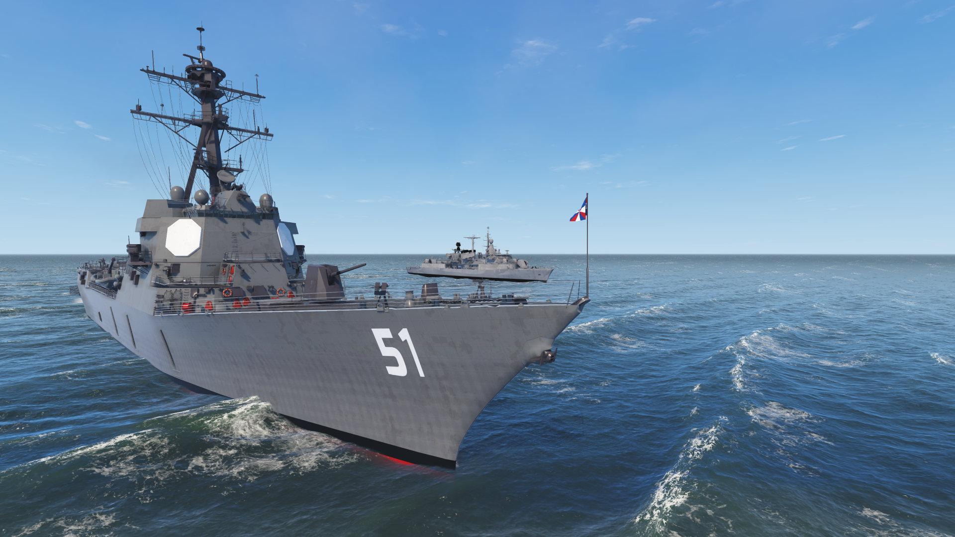 NAUTIS Maritime Simulator - Naval Ships