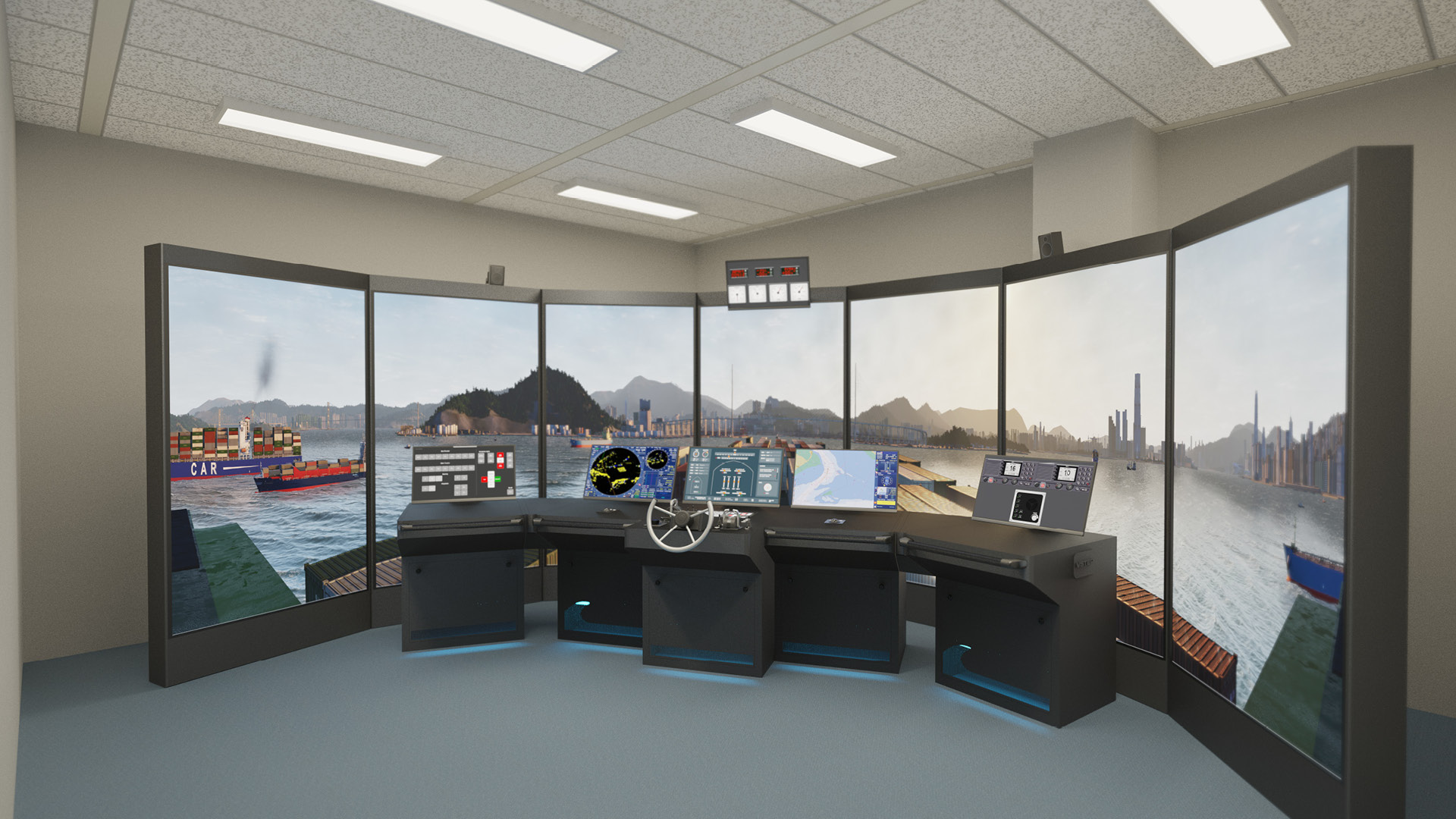 NAUTIS Maritime Simulator - Navigation Class B a