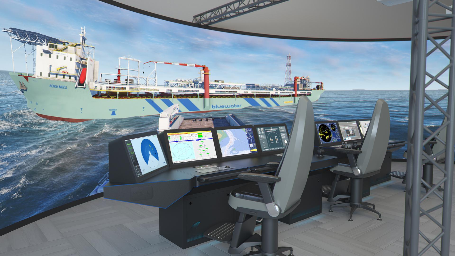 NAUTIS Maritime Simulator - VSTEP Simulation