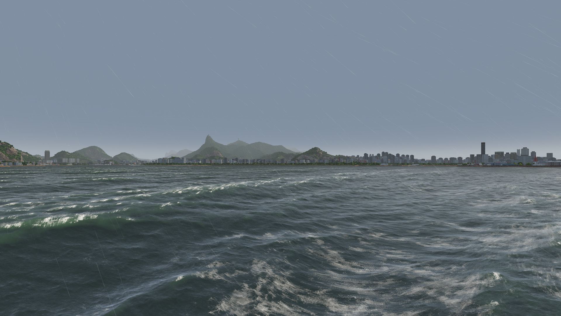 NAUTIS Maritime Simulator - Poor Weather