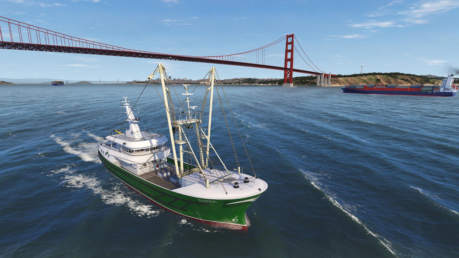 NAUTIS Maritime Simulator - San Francisco