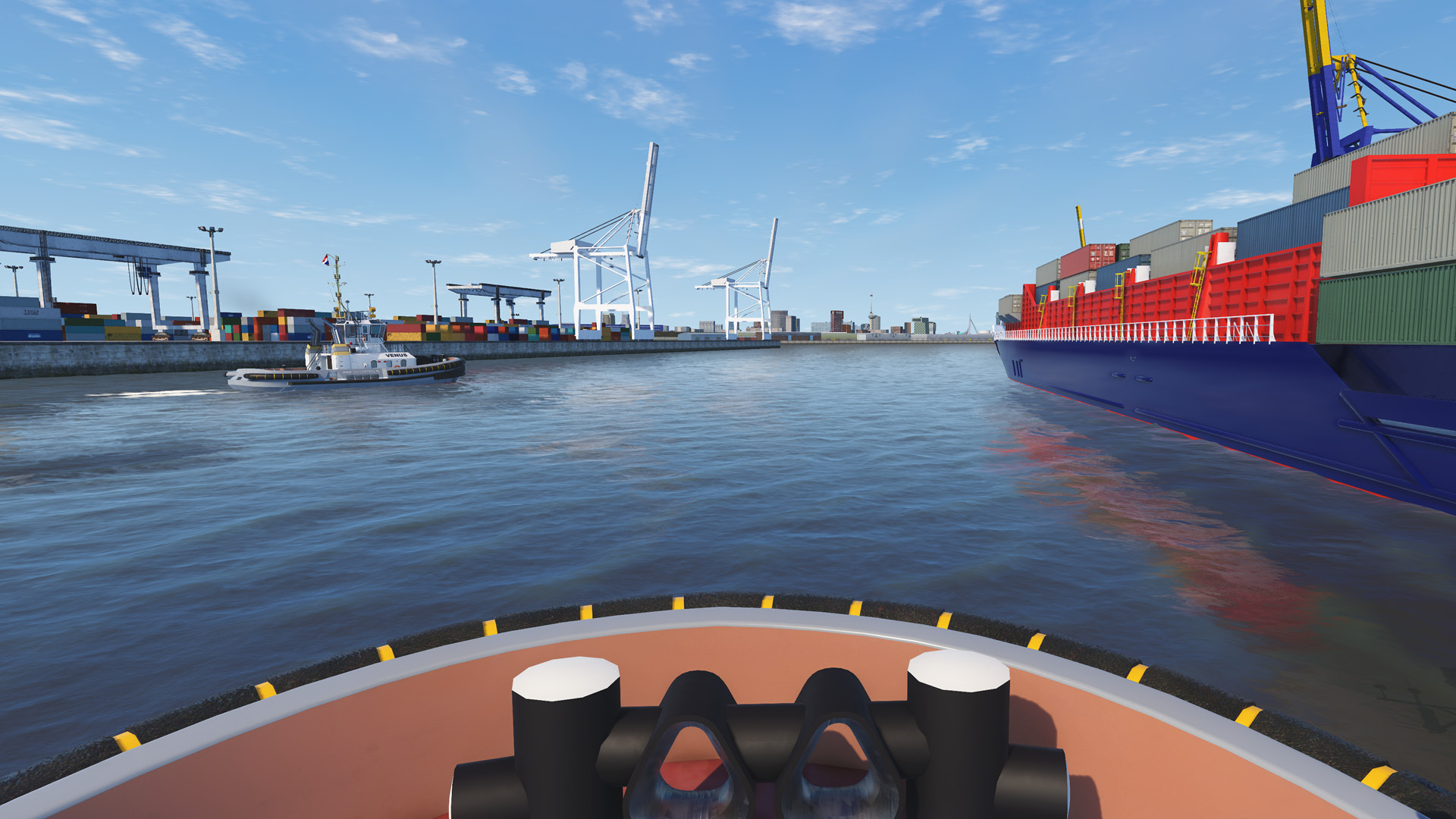 NAUTIS Maritime Simulator Port of Rotterdam