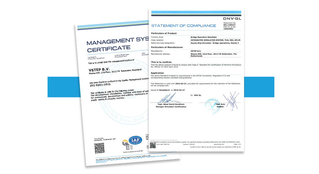 Statements of Compliance VSTEP