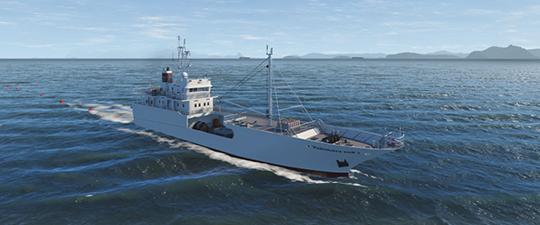 NAUTIS Maritime Simulator Fishing package3