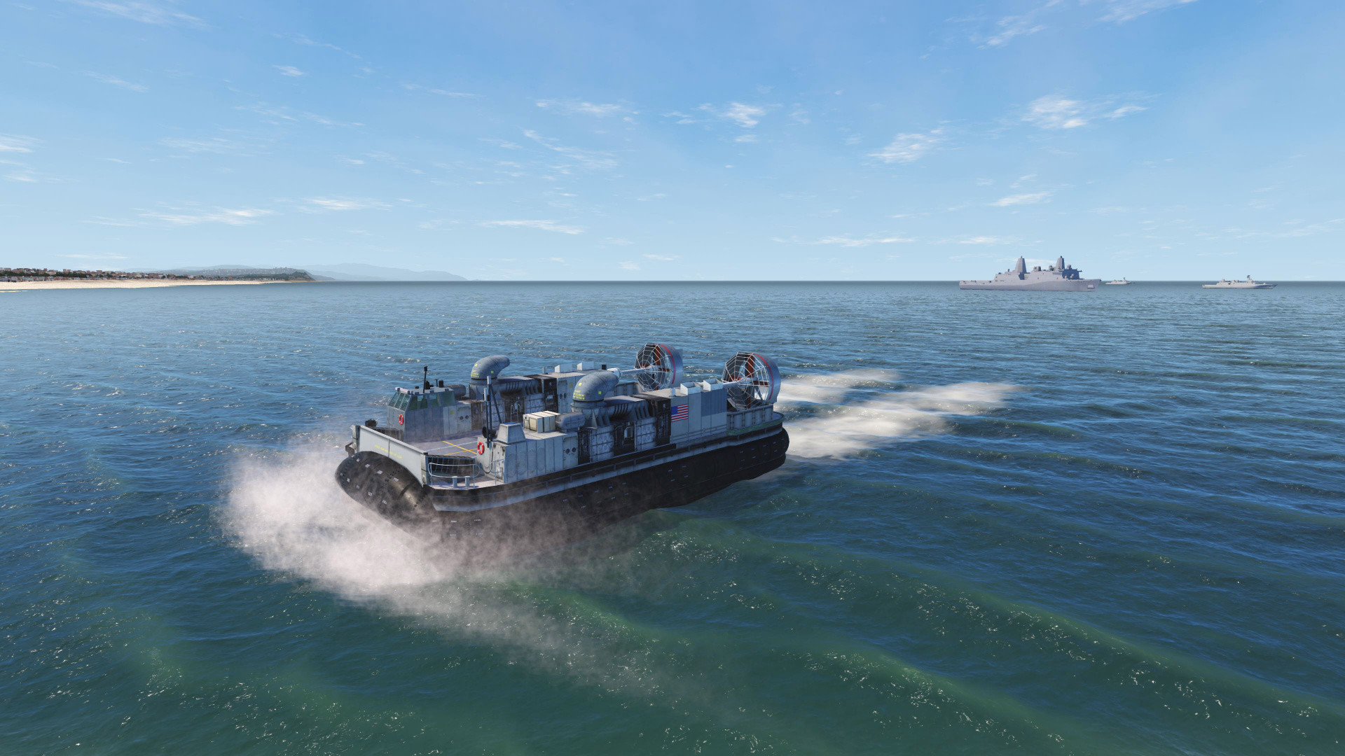 NAUTIS Naval Simulator - Hovercraft