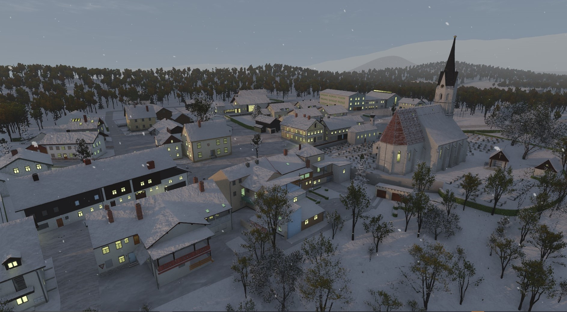 RS - Winter village