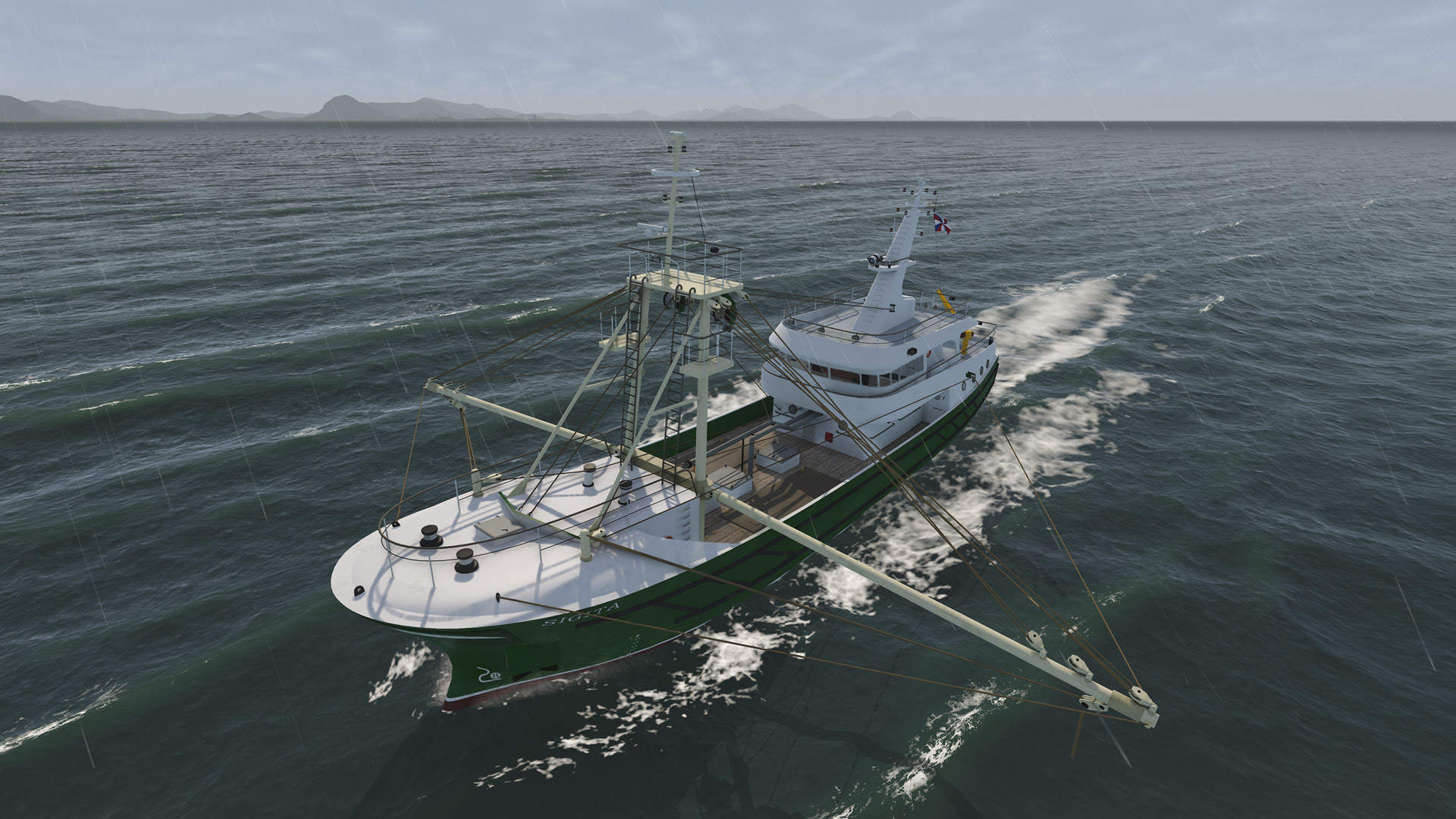NAUTIS Maritime Simulator Fishing 1