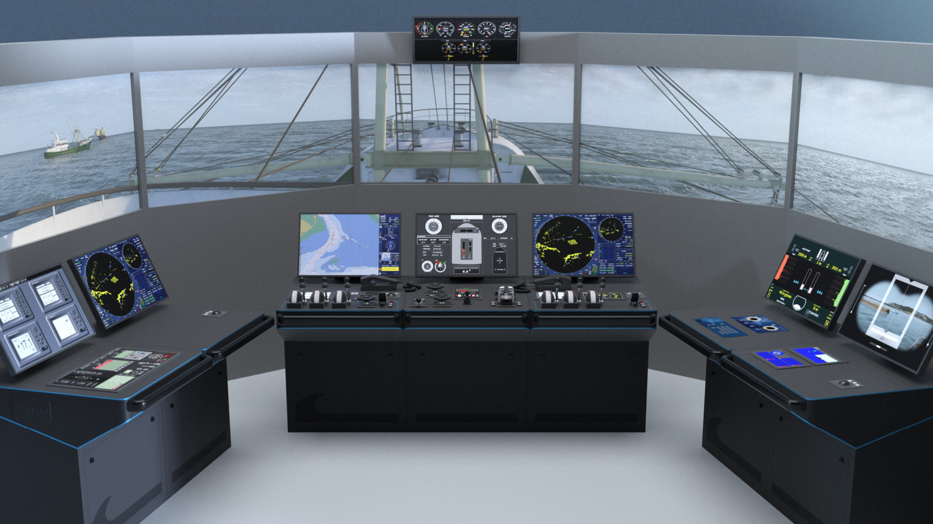 NAUTIS Maritime Simulator Fishing Configuration Class A