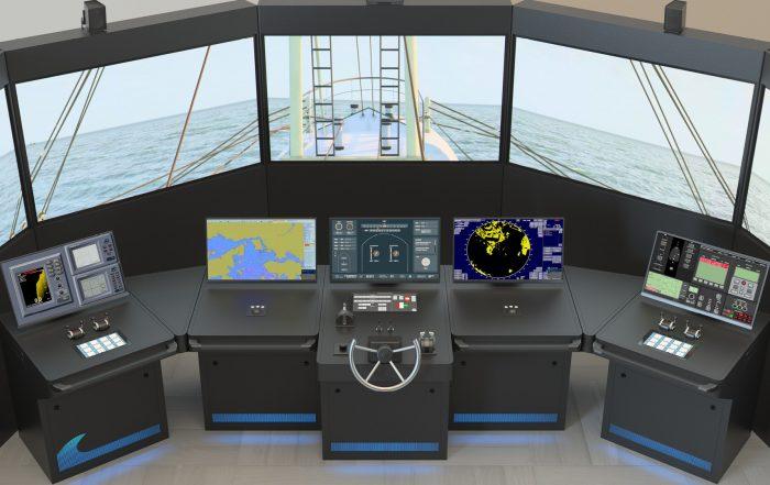 NAUTIS Maritime Simulator Fishing Configuration Class B