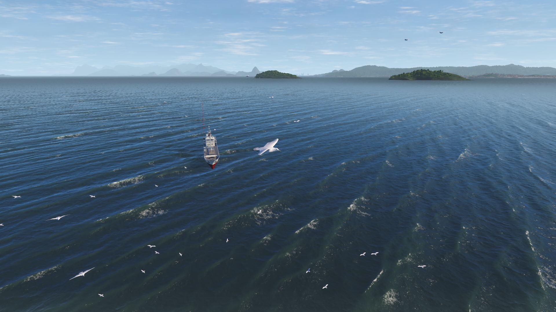 NAUTIS Maritime Simulator Sea Gulls