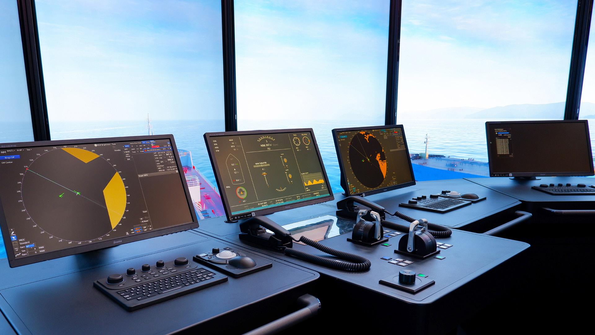 NAUTIS Maritime Simulator Consoles